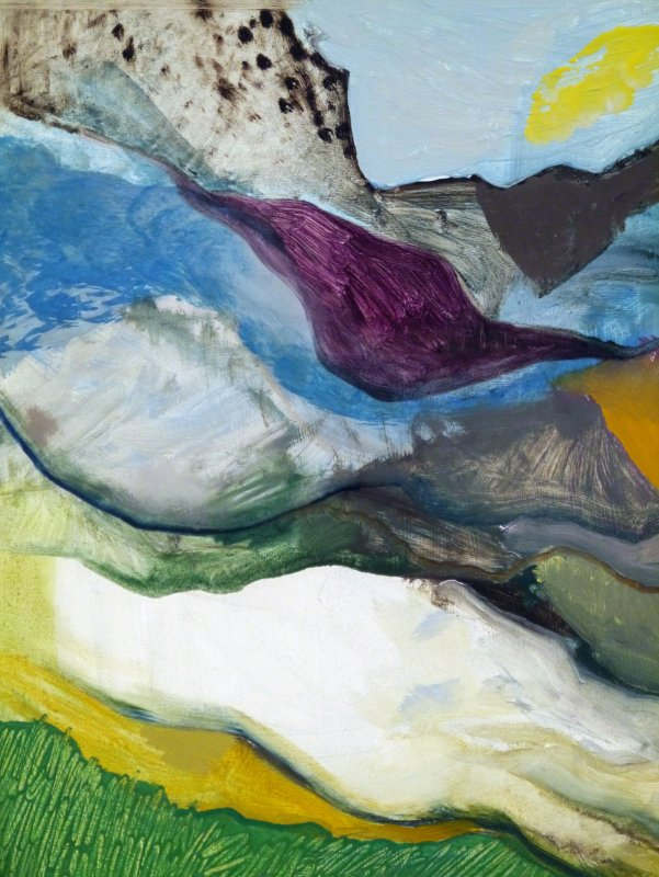 On a Plain (Glaciation), detail